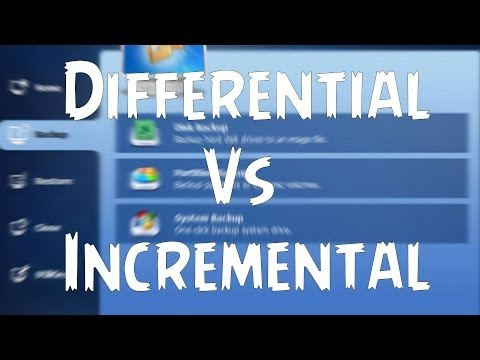 Differential vs Incremental Backup - Explained!