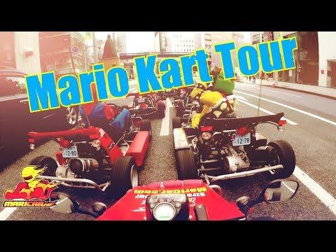 Mario Kart Go Kart Experience in Tokyo Japan! Sunday 18th Mar 2018