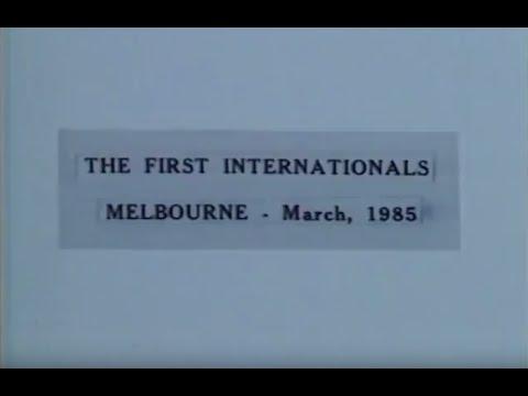 The First Internationals 1985 - New Zealand vs. Australia