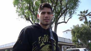ZURDO RAMIREZ BELIEVES DAVID BENAVIDEZ WILL BE CHAMPION; GIVES TAKE ON KEITH THURMAN VS MIKEY GARCIA