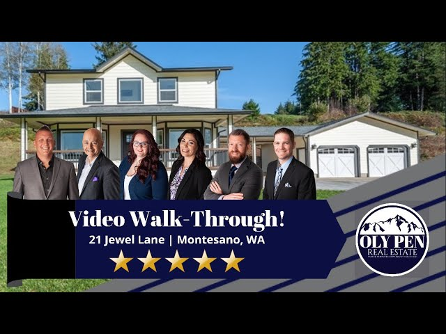 21 Jewel Lane | Montesano, WA | Video Walk-Through (Brand New Home!!!)