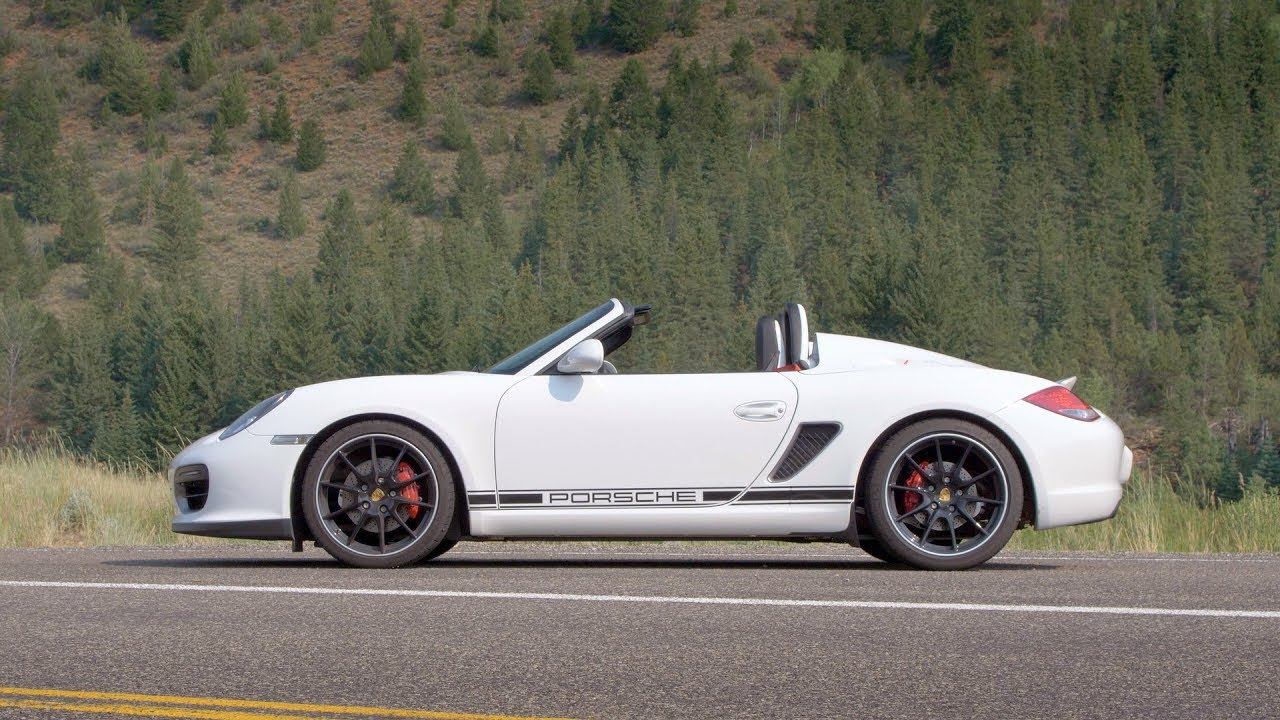 Porsche Boxster Spyder Uniquely Attainable Fast Blast Review Everyday Driver