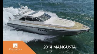 80 foot Mangusta yacht for sale