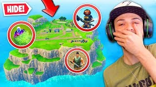 *NEW* Fortnite SPAWN ISLAND Hide & Seek!