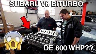 SUBARU IMPREZA V8 BITURBO (ft. MVS Preparações e ACF Preparações) | VLOG #122