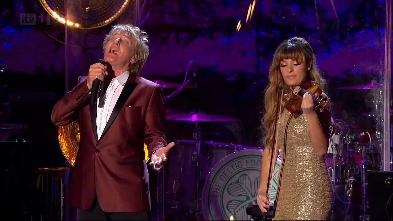 Rod Stewart - Christmas Live at Stirling Castle HD 21-nov-2012 ...