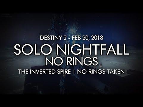 Destiny 2 - Solo Nightfall The Inverted Spire (No Rings)