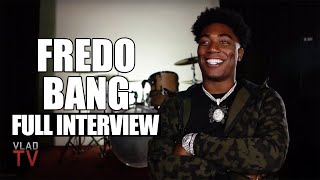 Fredo Bang on Gee Money's Murder, Facing 40 Years, His Face on a Piñata, Kodak Black(Full Interview)