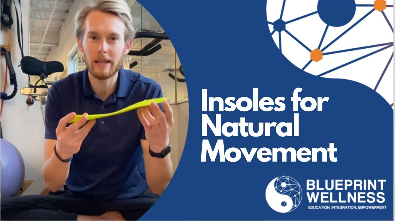 Insoles for NATURAL Movement (Naboso Technology)