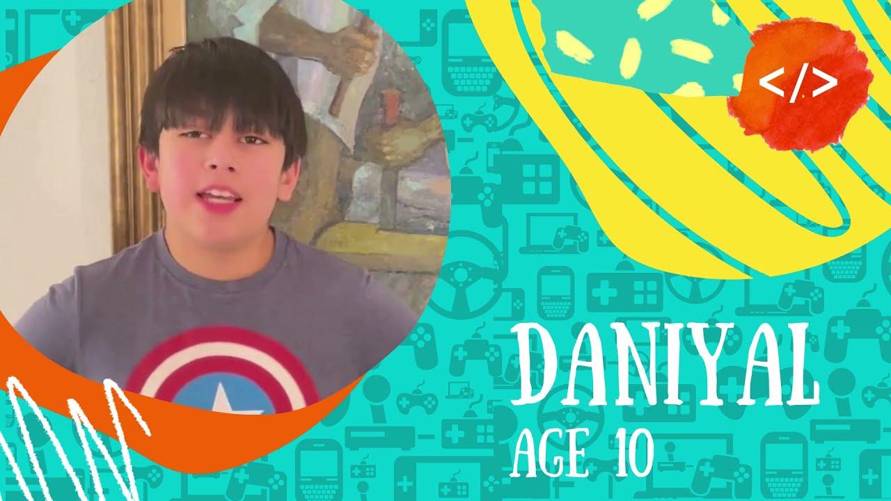 Meet the Codeschool students- Daniyal