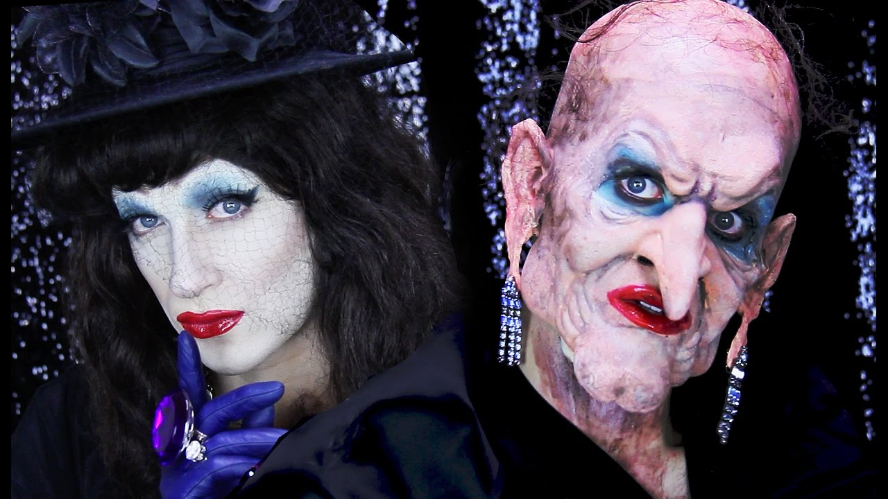 Grand high witch halloween makeup tutorial youtube baditri Images