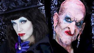 Grand High Witch Halloween Makeup Tutorial