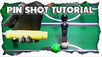 Der Pin Shot – als Anfänger den Profi Kicker Schuss lernen