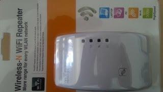 configuração do repetidor modelo 2013 wirelles-n wifi repeater