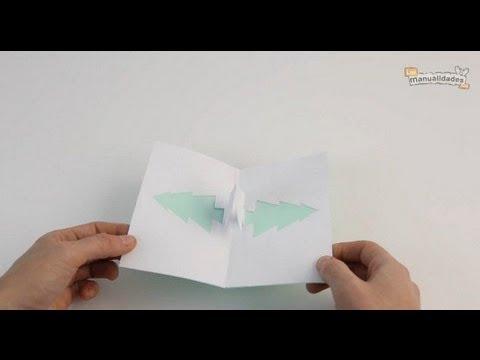 Tarjetas navide as hechas a mano youtube - Como hacer tarjetas navidenas a mano ...