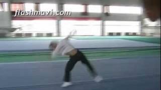 Wushu Aerial - Ce Kong Fan