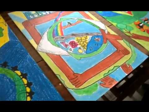 Poster Making -2nd Ballesteros District Science Camp - YouTube