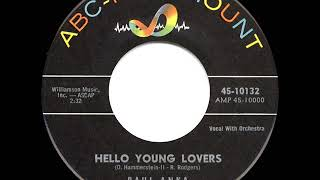 1960 HITS ARCHIVE: Hello Young Lovers - Paul Anka