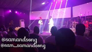 SAM and SONG Easter Crazy performance in Benin