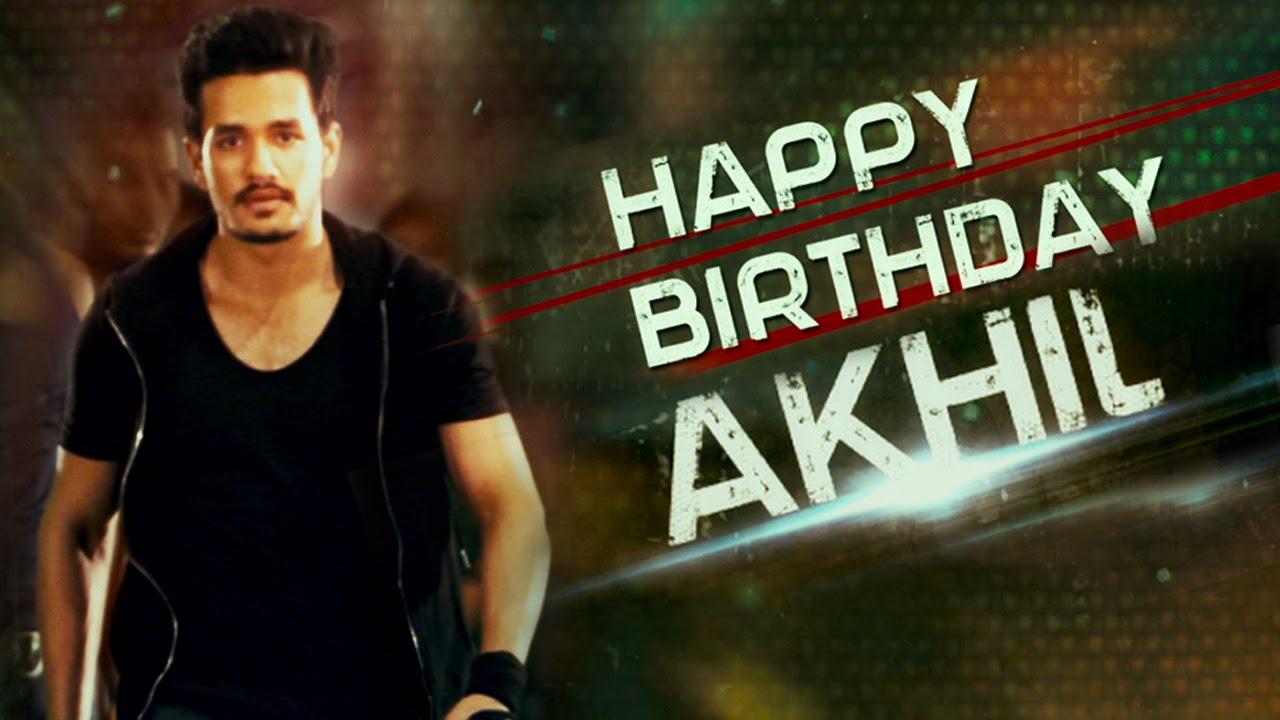 Akhil Akkineni Birthday Special || Exclusive Making Video