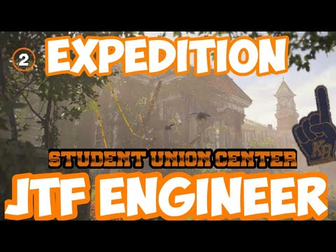 The Division 2   EXPEDITION   Kenly Student Union (JTF ENGINEER) + (Hidden Supply Room) - YouTube