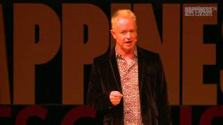 David lauches Why Mindfulness is Better than Chocolate at the Happiness & Its Causes Conference