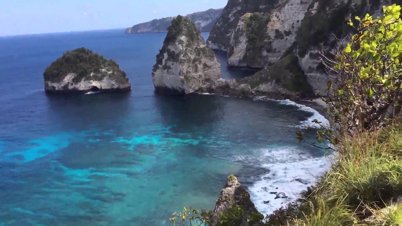 Panorama Pantai Atuh Nusa Penida Youtube