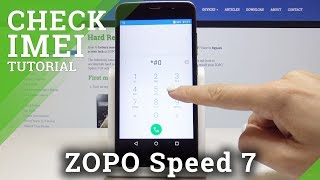 How to Check IMEI in ZOPO Speed 7 - Locate Serial Number