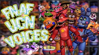 FNaF UCN - Voices - (Animated Slideshow Style)