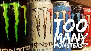 My OCD | How Many Monsters Do I Drink?