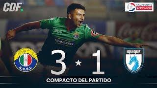 Audax Italiano 3 - 1 Deportes Iquique | Campeonato AFP PlanVital 2019 Segunda Fase | Fecha 1 | CDF
