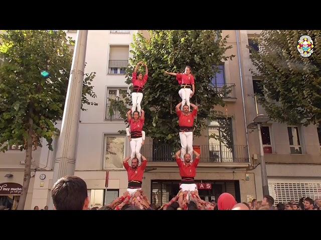 2xP5 Castellers Alt Maresme @ Mataró (03/11/2019)