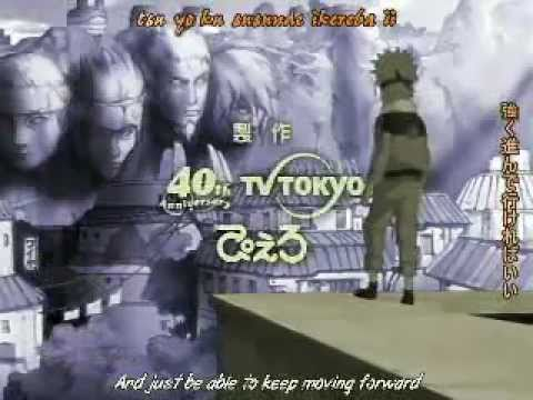 Naruto ending 4 Alive by Raiko english sub