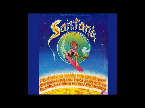 Santana  Evil ways Rare  1969 San Franciscan Nights