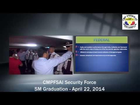 CMP Federal Security Agency Inc. - SM Graduation