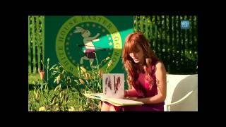 Bella Thorne  - Dyslexia - Inspiring - Reading @ 2012 White Ho…