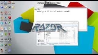 GTA 4: FATAL ERROR RMN60 (PLEASE HELP!!!)