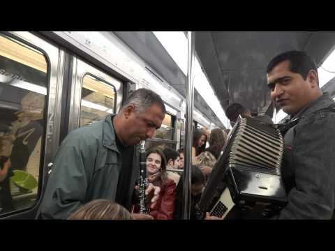 Jazz on the Parisian Metro