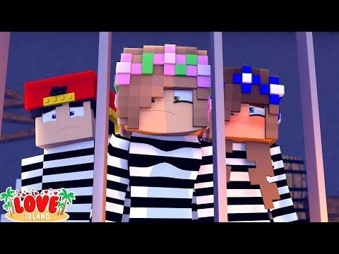 LOCKED UP FOR GOOD! Love Island! | Minecraft Little Kelly