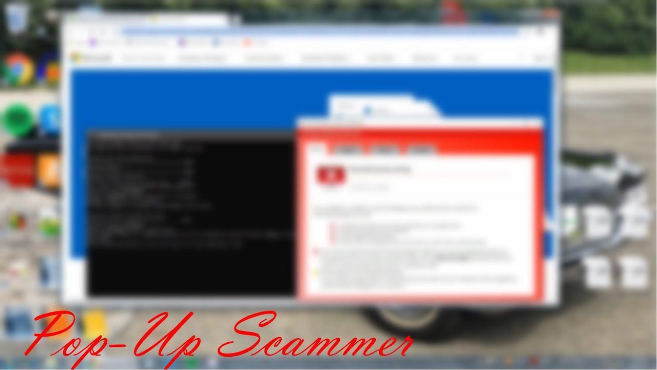 "Pop-Up Scammer | ""Windows is Updating"" | (833) 427-6261"