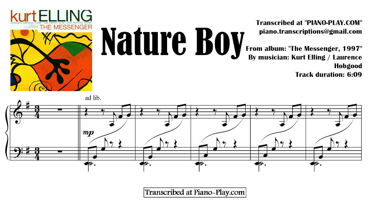 KURT ELLING NATURE BOY EBOOK
