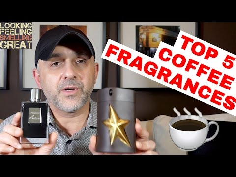 TOP 5 COFFEE Fragrances, Perfumes, Colognes ☕️☕️☕️