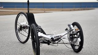 A frenetic activity - assembling a Warrior Tadpole Recumbent Trike