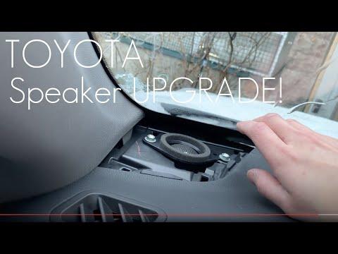 2014-2019 Toyota Highlander - PLUG N PLAY DASH SPEAKER UPGRADE!