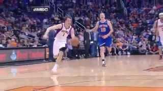 J.R. Smith Flagrant Foul On Goran Dragic! New York vs Phoenix! thumbnail