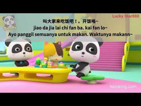 [INDO SUB] Lagu Anak Mandarin Baby Bus Chinese