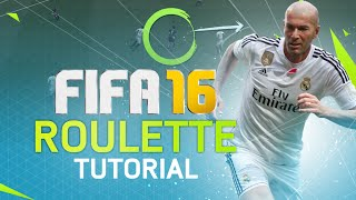 FIFA 16 ROULETTE TUTORIAL! HOW TO BEAT THE DEFENSE + SKILL MOVE TIPS! FUT / H2H