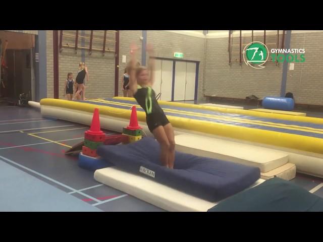 Front Handspring Drills & Exercises Floor Gymnastics