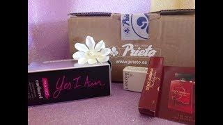 Mi compra de perfume Cacharel en perfumería Prieto