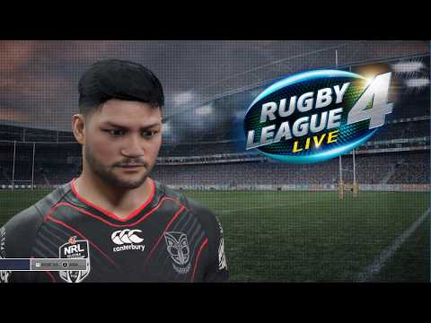 Rugby League Live 4 - South Sydney Rabbitohs + Wakefield Trinity